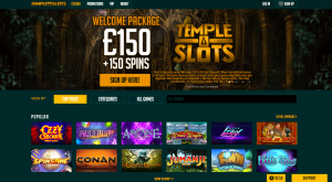 temple slots overview playnpay
